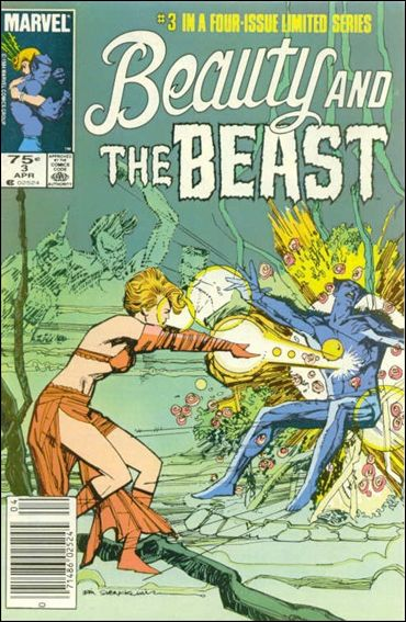 Beauty and the Beast (1984) 3-A by Marvel