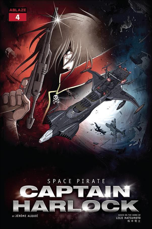 Space Pirate Captain Harlock 4-E by Ablaze