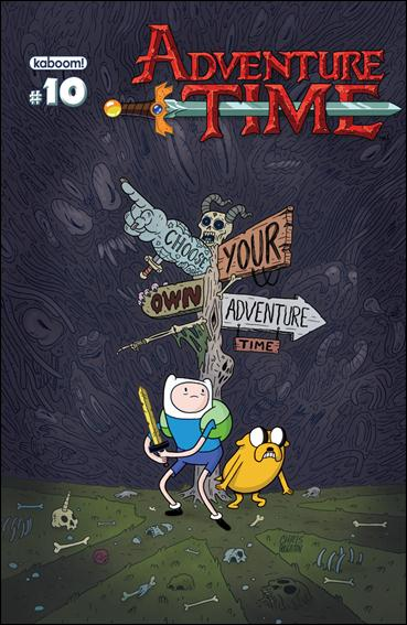 Adventure Time 10-A by Kaboom!