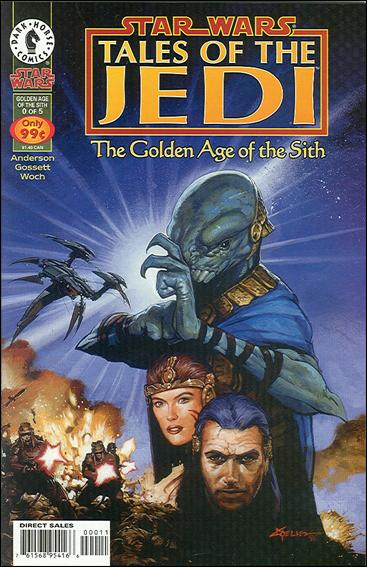 Star Wars: Tales of the Jedi - The Golden Age of the Sith 0-A by Dark Horse