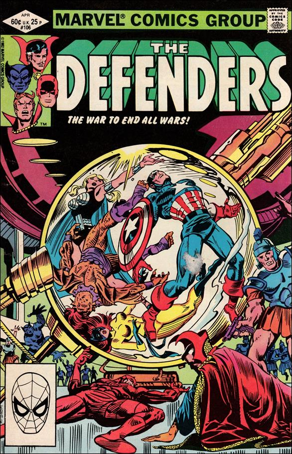 Defenders (1972) 106-A by Marvel