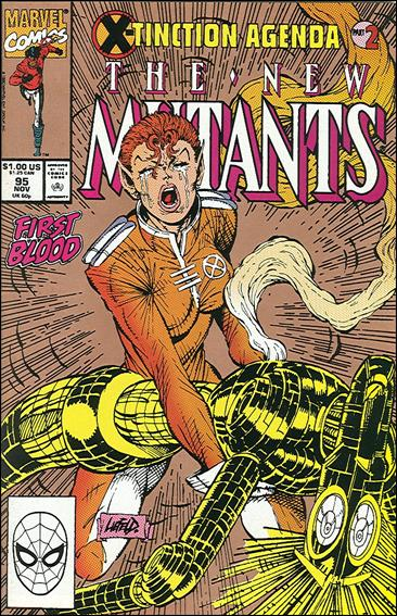 New Mutants (1983) 95-B by Marvel