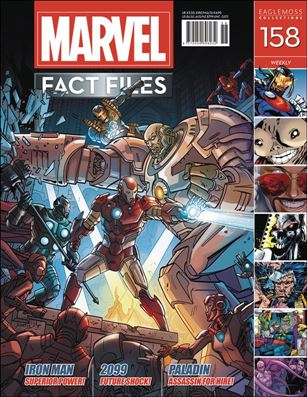 Marvel Fact Files 158-A
