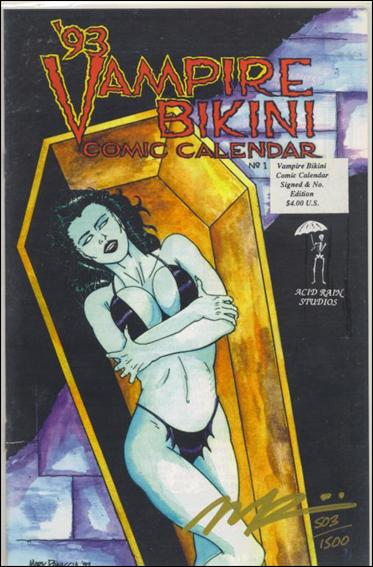 93 Vampire Bikini Comic Calendar 1-A by Acid Rain Studios