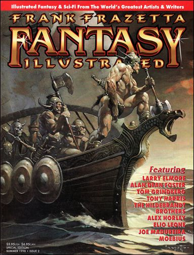 Frank Frazetta Fantasy Illustrated 2-A by Quantum Cat Entertainment