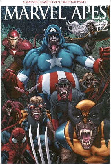 Marvel Apes 2-B by Marvel