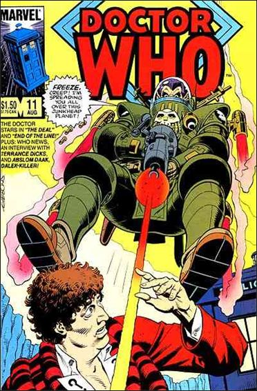 Doctor Who (1984) 11-A by Marvel
