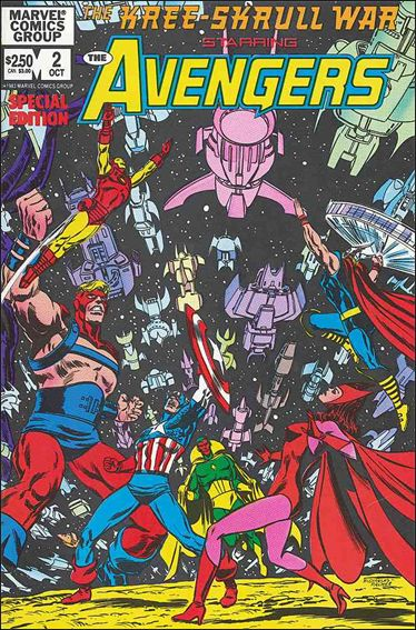 Kree-Skrull War Starring The Avengers 2-A by Marvel