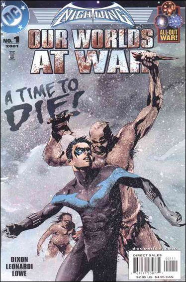 Nightwing: Our Worlds at War 1-A by DC