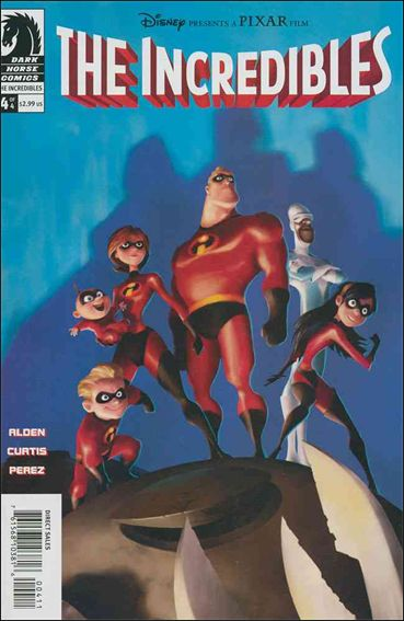 Incredibles (2004) 4-A by Dark Horse