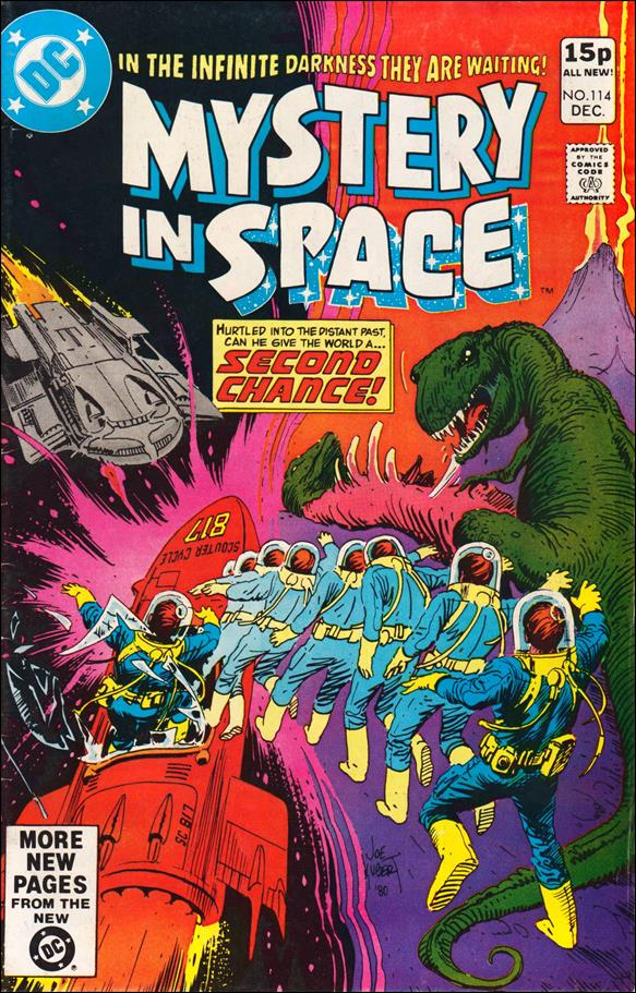 Mystery in Space (1951) 114-B by DC