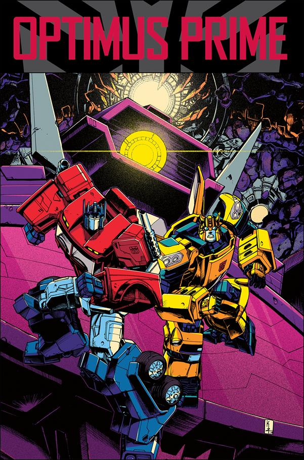 Transformers: Optimus Prime 5-A by IDW