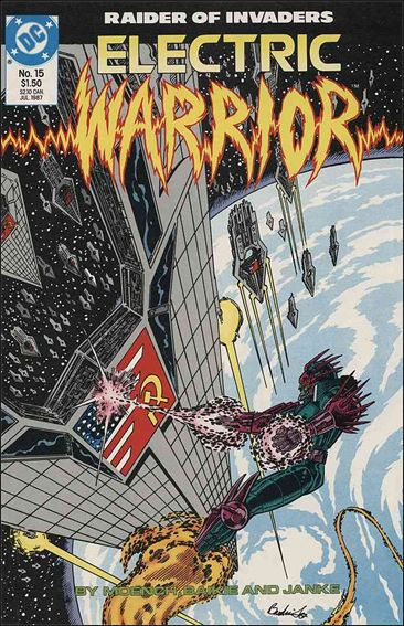 Electric Warrior 15-A by DC