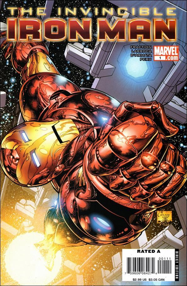 Invincible Iron Man (2008) 1-A by Marvel