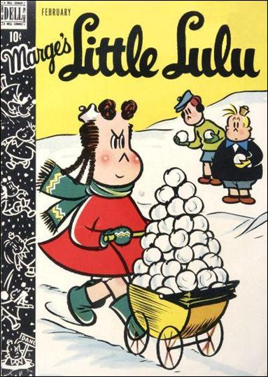 Marge's Little Lulu 8-A by Dell
