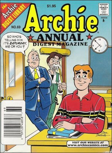 Archie Annual Digest Magazine 69-A by Archie