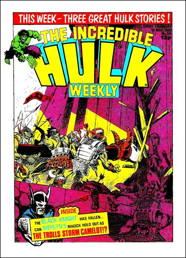 Hulk Comic (UK) 54-A by Marvel UK