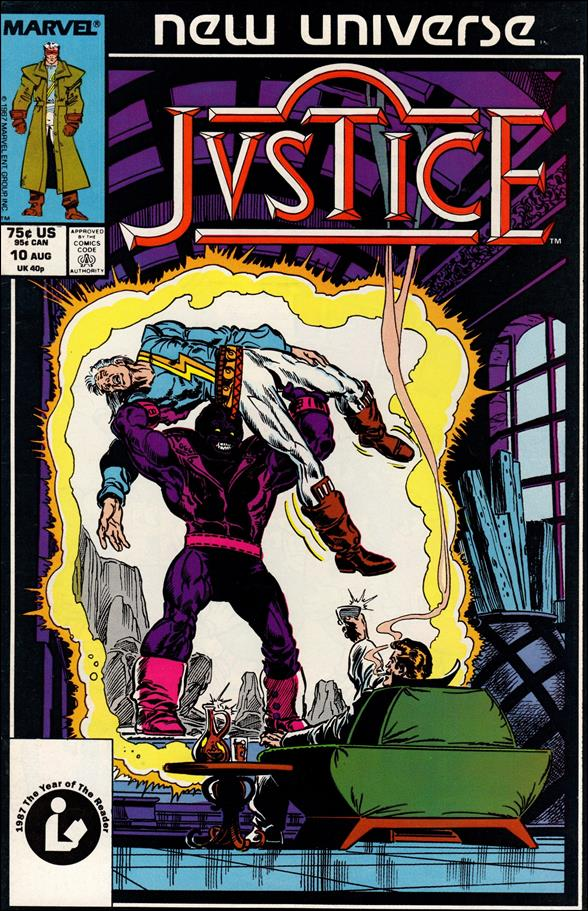 Justice (1986) 10-A by Marvel