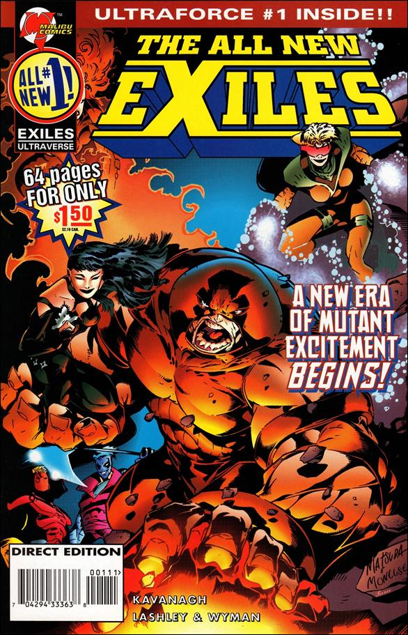 All New Exiles 1-A by Malibu