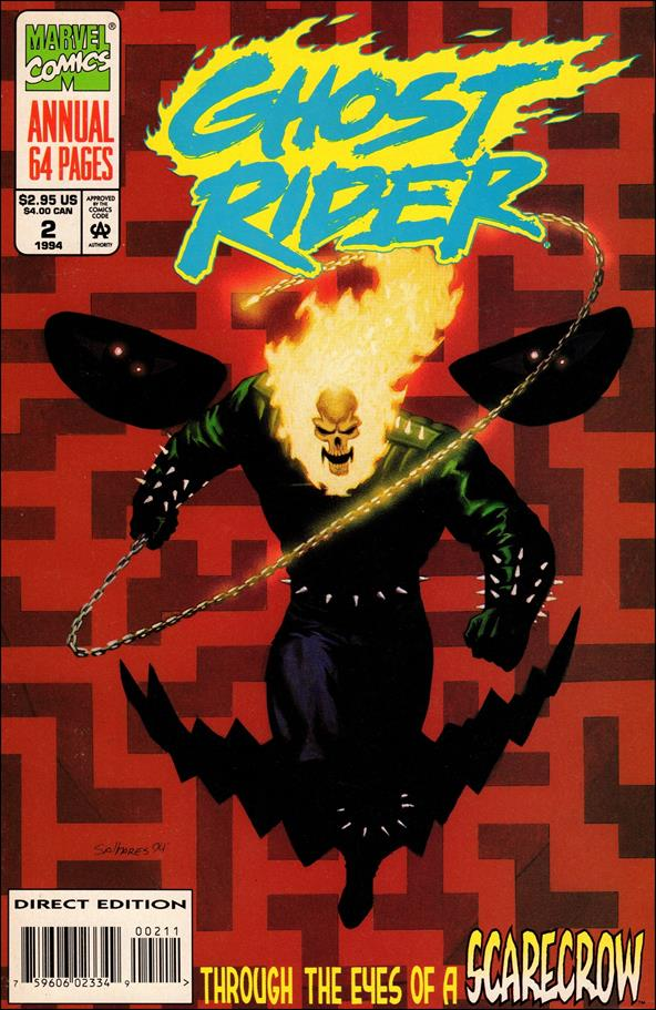 Ghost Rider Annual 2-A by Marvel