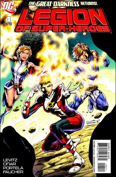 Legion of Super-Heroes (2010) 4-A by DC