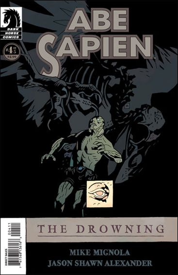 Abe Sapien: The Drowning 4-A by Dark Horse