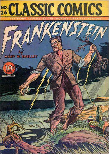 Classic Comics/Classics Illustrated 26-A by Gilberton