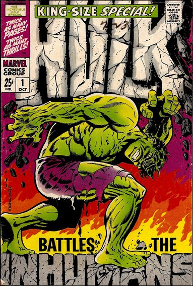 Incredible Hulk Annual  1-A by Marvel
