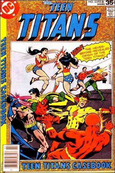 Teen Titans (1966) 53-A by DC