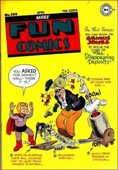 More Fun Comics 109-A by DC