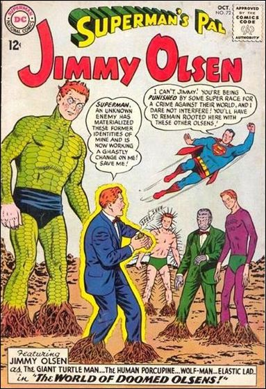 Superman's Pal Jimmy Olsen 72-A by DC