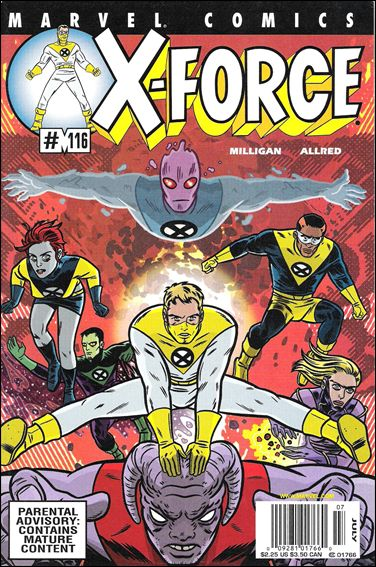X-Force (1991) 116-B by Marvel