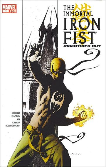 Immortal Iron Fist 1-B by Marvel