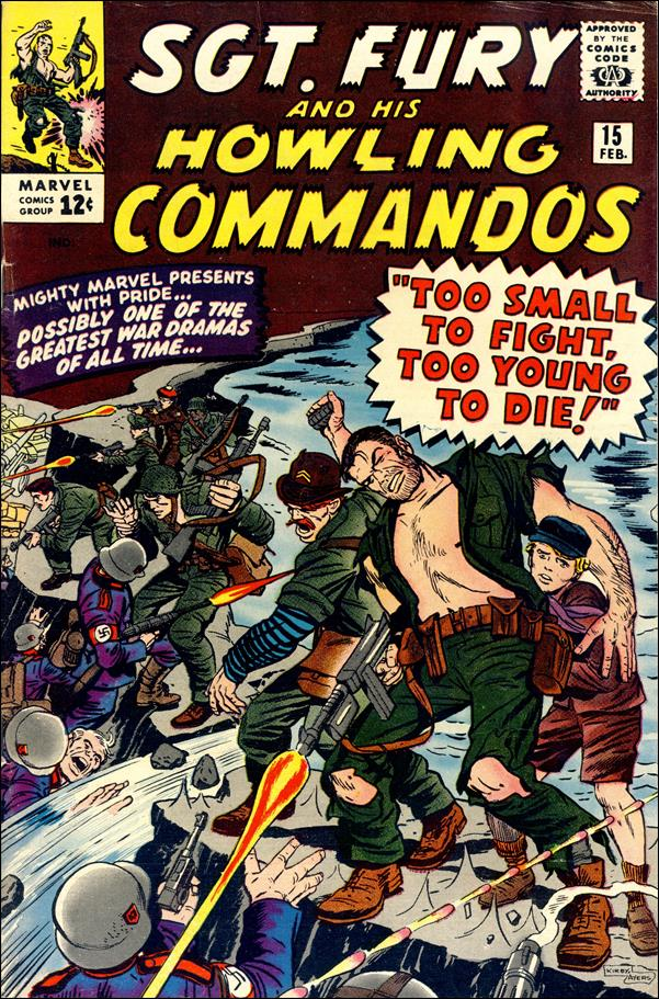 Sgt. Fury and His Howling Commandos 15-A by Marvel