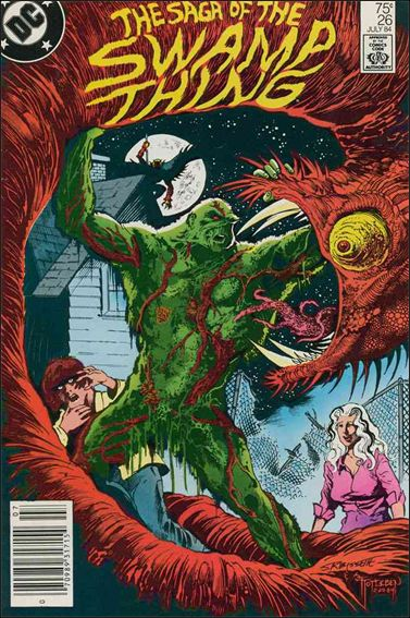 Saga of the Swamp Thing 26-A by DC