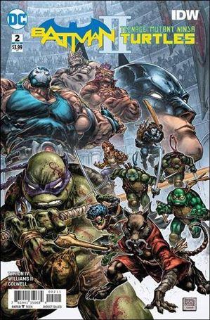 Batman/Teenage Mutant Ninja Turtles II 2-A
