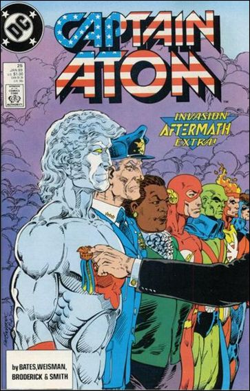 Captain Atom (1987) 25-A by DC