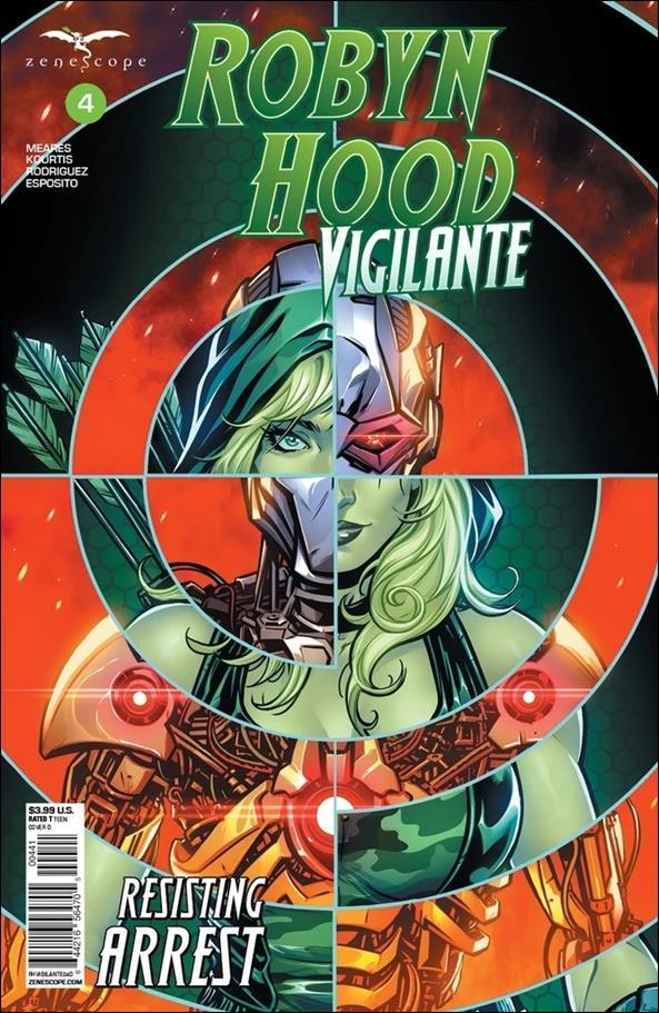 Robyn Hood: Vigilante 4-D by Zenescope Entertainment