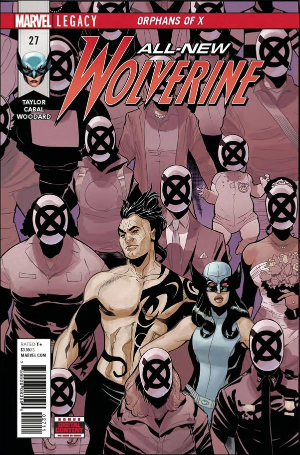 All-New Wolverine  27-A by Marvel
