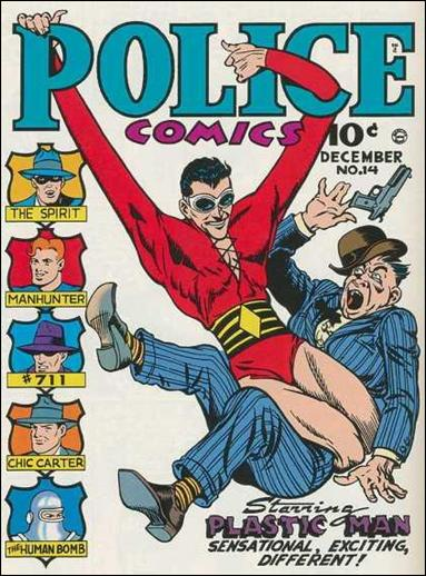 Police Comics 14-A by Comic Magazines