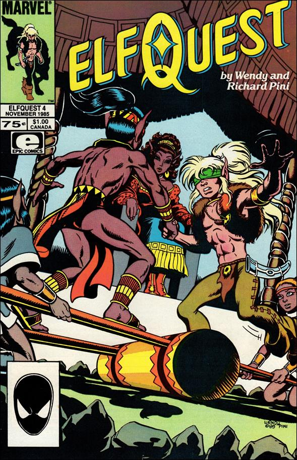 Elfquest (1985) 4-A by Epic