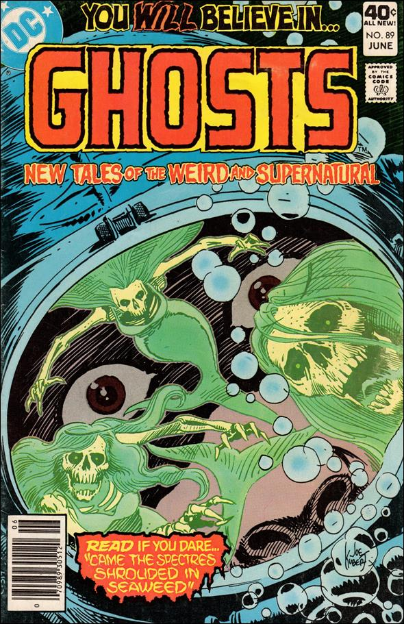 Ghosts (1971) 89-A by DC