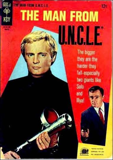 Man from U.N.C.L.E. (1965) 11-A by Gold Key