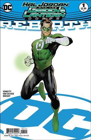 Hal Jordan and the Green Lantern Corps: Rebirth 1-B