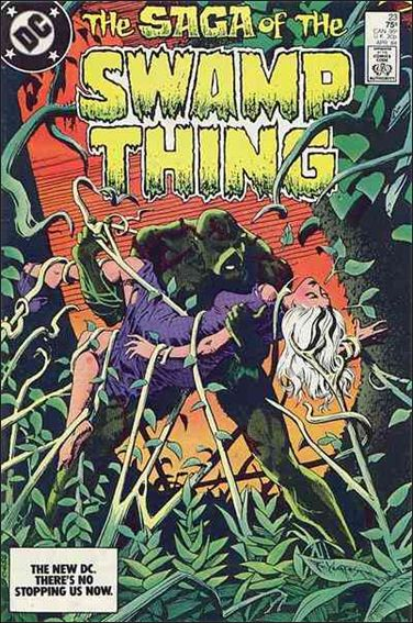 Saga of the Swamp Thing 23-A by DC