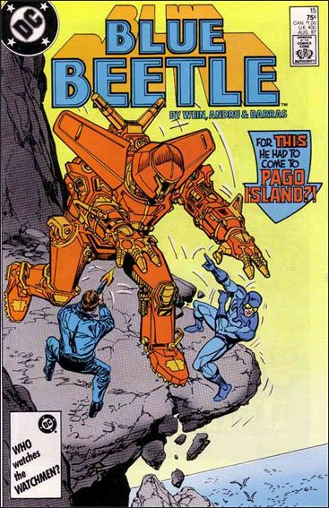 Blue Beetle (1986) 15-A by DC