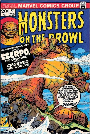 Monsters on the Prowl 27-A by Marvel