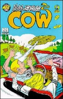 Man-Eating Cow 6-A by New England Comics Press (NEC / NECP)
