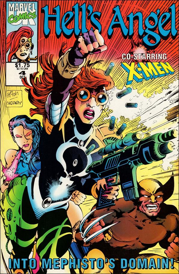 Hell's Angel (UK) 4-A by Marvel UK
