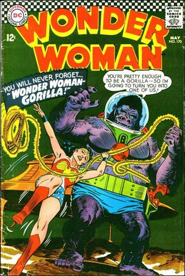 Wonder Woman (1942) 170-A by DC